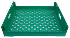 BT101-Green Bread Tray