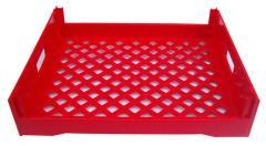 BT101-Red Bread Tray