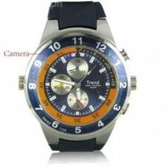 Water Resistant watch camera with MP3 player