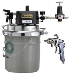 DVP Pail Mounted Conventional Outfit with Agitator
