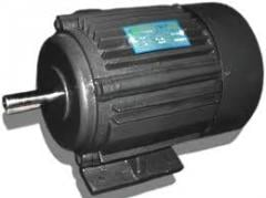 Flange induction electric motor