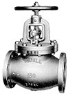 Bolted Bonnet Cast Steel Globe and Angle Valves