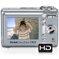 Kodak Easy Share C813 8MP 3XZoom (Silver) camera