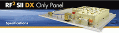 RF2 SII DX Only Panel for Lucent Series II base stations