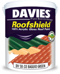 Davies Roofshield All Weather Acrylic Roof Paint
