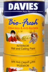 Davies Bio-Fresh Odour-less & Anti-Bacterial Paint