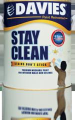 Davies Stay Clean Premium Washable Paint