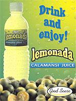 Ready to drink Good Sense Lemonada Calamasi Juice