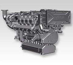 210 - 500 kW  /  280 - 670 hp 2015M marine engine