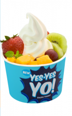 Yes Yes Yo! frozen yogurt