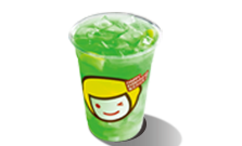 Lemon Peppermint with Nata Da C drink