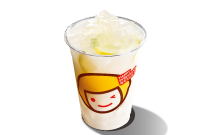 Lemon Yogurt with Aloe drink