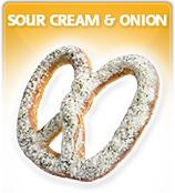 Sour Cream Onion Pretzels
