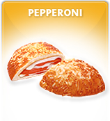 Pepperoni Pretzel Pockets