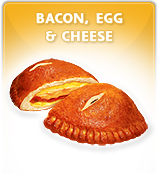 Bacon Egg Cheese Pretzel Pockets