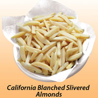 California Blanched Slivered Almonds