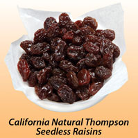 California Natural Thompson Seedless Raisins