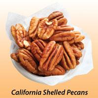 California Raw Shelled Pecans
