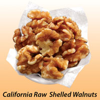 California Raw Shelled Walnuts