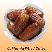 U.S. Dried Pitted Dates