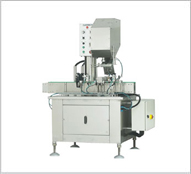 Automatic Linear single Head Pick & Place Screw Capping Machine