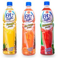 Del Monte Fit 'n Right 1 Liter drinks