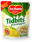 Del Monte Pineapple Tidbits in Budget Pack