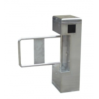 Vertical type flap turnstile