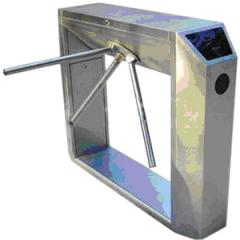 Bridge type tripod turnstile