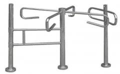 Manual cross turnstile