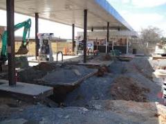 GASOLINE STATION CONSTRUCTION