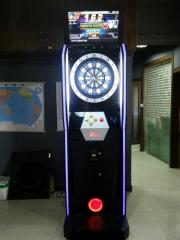 Dart board dart machine