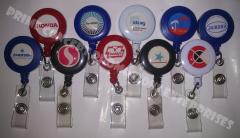 Retractable ID Reel/Lanyard/ID Protector