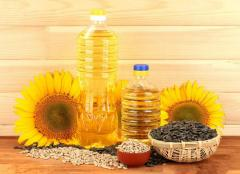 Pure sunflower oil.