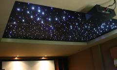 Led ceiling stars.