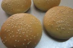 Colored Hamburger Buns and other customized breas