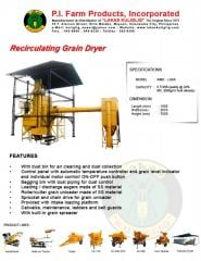 Recirculating Grain Dryer