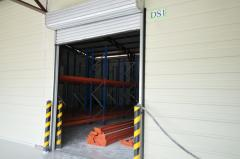 Loading Bay Equipment - Roll-Fast Hi-Speed PVC Door