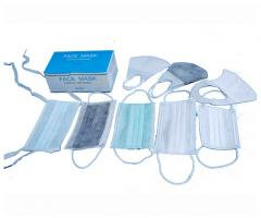 Surgical 3D Nonwoven Face Masks with Earloop