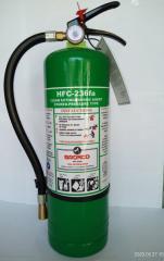 Bronco Clean Agent Fire Extinguisher