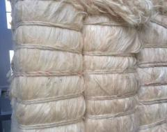 100% натуральное сизалевое волокно / белое