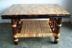 Bamboo Tiles Center Table