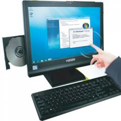 HASEE - TS23D3W Touchscreen All-in-One PC