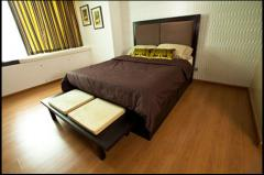 Bed double wooden