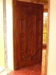 Master's bedroom Narra wooden door