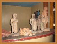 Antique statuette