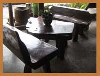 A set of furniture Narra