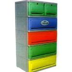 Plastic cabinet.