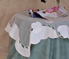 Table linen rose