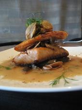 Filipino Dishes Seared Salmon Gravlax with